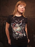 Zombies in Wonderland T-Shirt