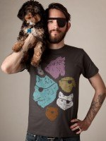 Animals with Eyepatches! Yes! T-Shirt