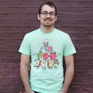 Food Pyramid T-Shirt