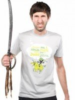 Imagine me, a Ninja Pirate, riding atop a zombie unicorn... T-Shirt