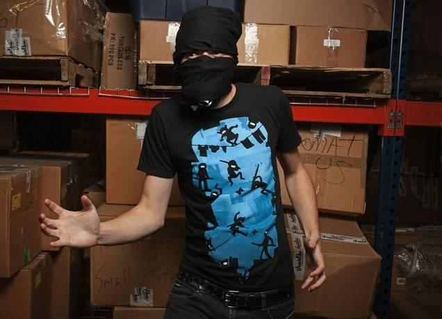Ninja Kick Ass Clash T-Shirt
