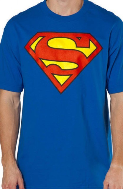 Classic Superman Symbol T-Shirt