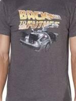 Distressed Delorean Back To The Future T-Shirt