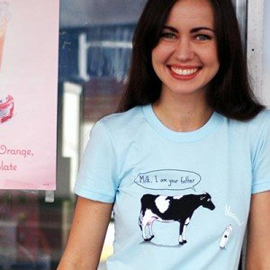 Milk, I am your father T-Shirt