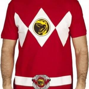 Red Ranger Costume T-Shirt
