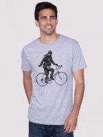 Sasquatch Cyclist T Shirt