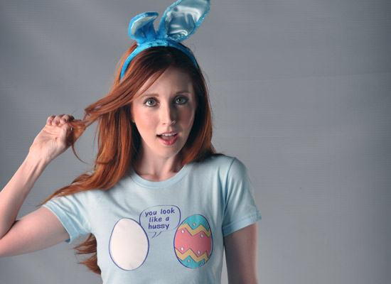 Easter Egg You Look Like A Hussy T-Shirt
