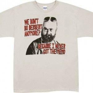 No Dessert Alan T-Shirt