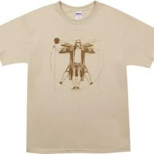 Vitruvian Big Lebowski T-Shirt