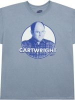 George Costanza Cartwright T-Shirt