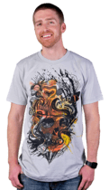 Life + Death T-Shirt by Nicebleed