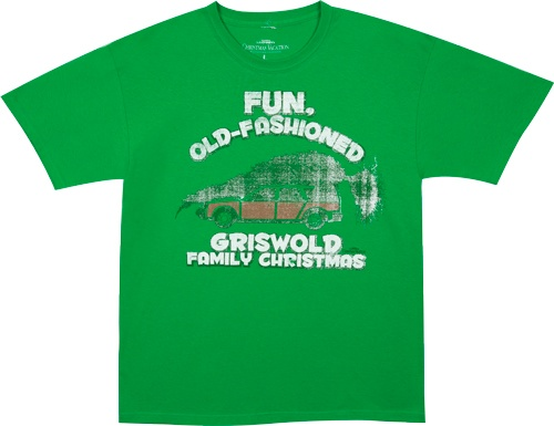 Old Fashioned Griswold Christmas T-Shirt