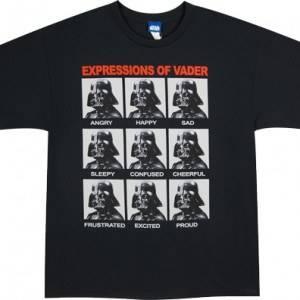 Expressions Darth Vader T-Shirt