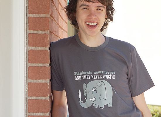 Elephants Never Forgive T-Shirt