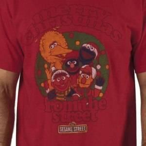 Merry Christmas Sesame Street Shirt