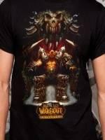 World of Warcraft Garrosh Throne T-Shirt