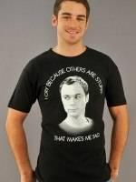 Big Bang Theory Cry T-Shirt