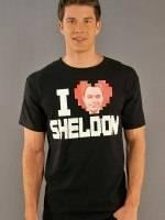 Big Bang Theory I heart Sheldon T-Shirt