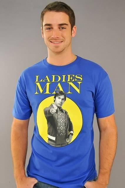 Big Bang Theory Ladies Man T-Shirt
