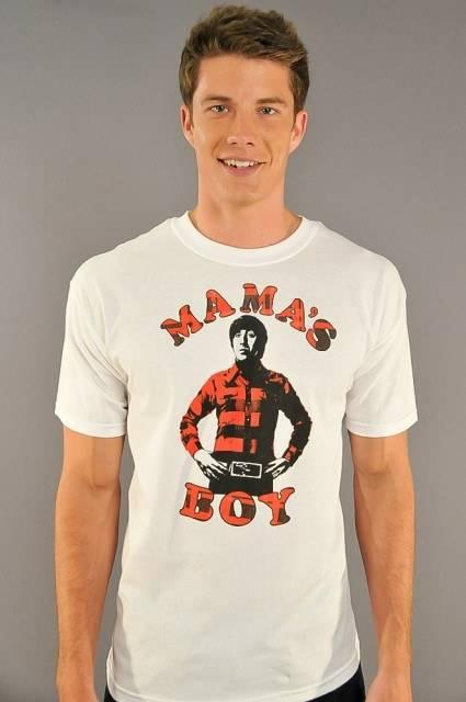 Big Bang Theory Mamas Boy T-Shirt