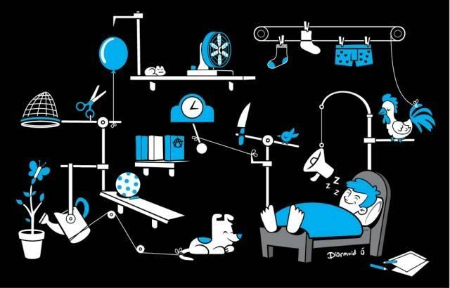 Diarmuid does Rube Goldberg