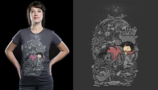 Dreams T-Shirt by Alex Solis