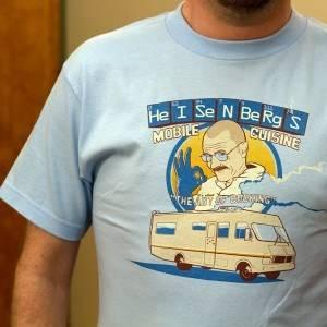 HeISeNBeRgS Breaking Bad T-Shirt