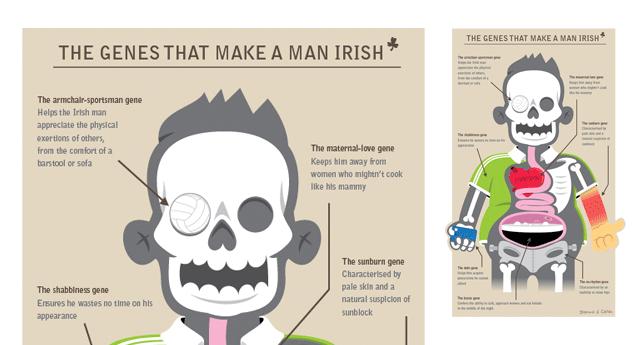 The Genes that Make and Man Irish