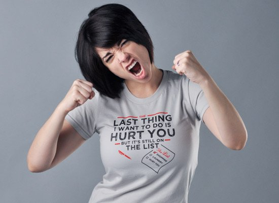 The Last Thing I Want To Do Is Hurt You T-Shirt