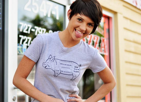 Tasty Pig Cuts T-Shirt