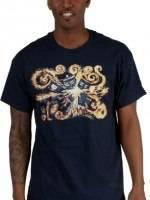 Van Gogh TARDIS T-Shirt