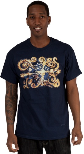 The Pandorica Opens Doctor Who T-Shirt