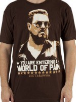 World Of Pain Big Lebowski T-Shirt