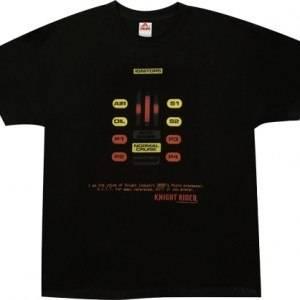Knight Rider Dashboard KITT Shirt