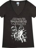 Star Wars V-Neck T-Shirt