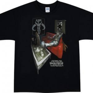 Carbonite Han Solo Coffee Table T-Shirt