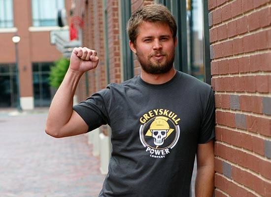Greyskull Power Company He-Man T-Shirt