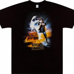 Michael J Fox Back To The Future T-Shirt