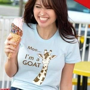 Moo, I'm A Goat T-Shirt