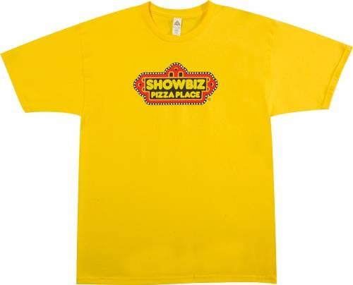 Showbiz Pizza Place T-Shirt