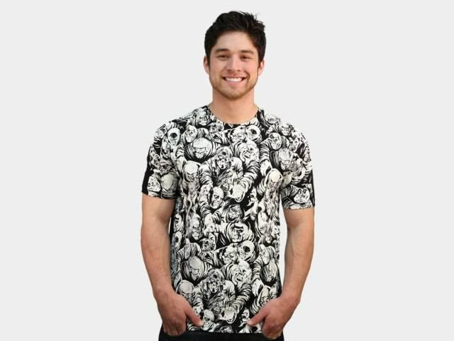 Zombie Pattern T-Shirt