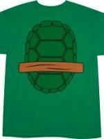 Michelangelo TMNT Shirt back