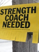 Strength Coach Needs