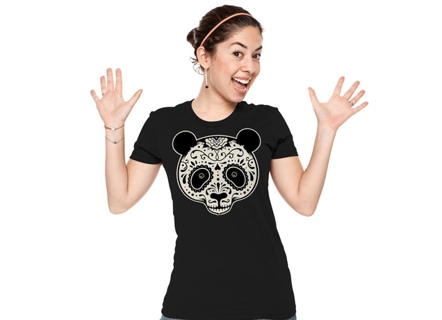 Day of the Dead Panda T-Shirt