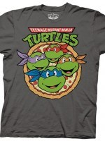 Pizza Ninja Turtle Party T-Shirt