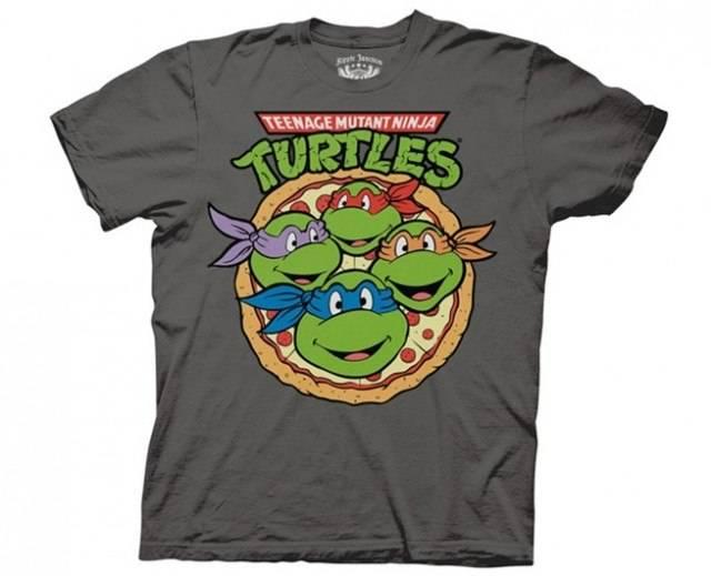 Pizza Ninja Turtle Party T-Shirt