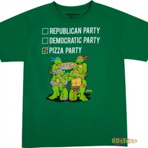 Vote Pizza Party T-Shirt