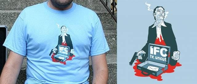 Don't Shoot The Messenger! T-Shirt by Mr Rocks