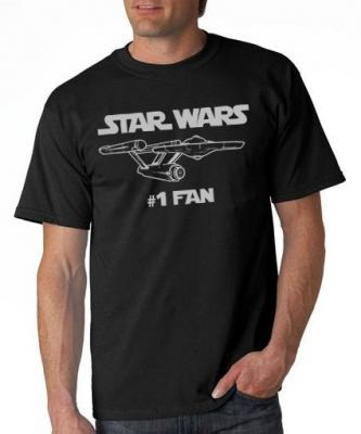 Star Wars #1 Fan T-Shirt