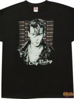 Drapes and Squares Cry-Baby T-Shirt